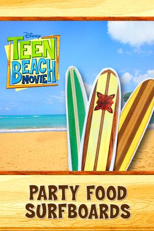 partyfoodsurfboards