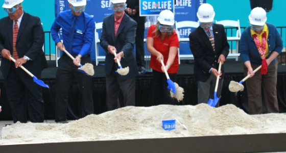 sea aquarium groundbreaking