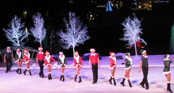 SeaWorld Christmas Ice Skating