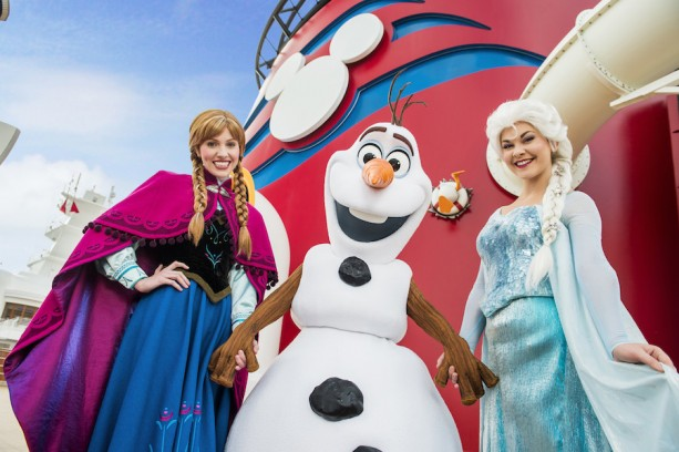 Frozen Disney Cruise