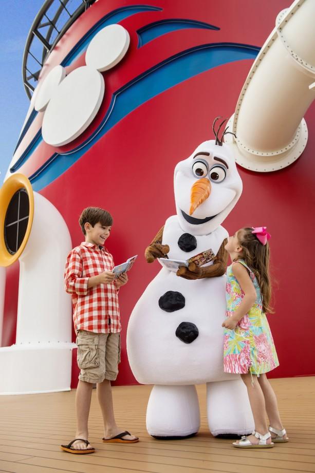 Olaf Disney Cruise