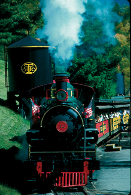 tweetsie railroad train