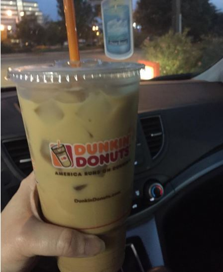Dunkin Donuts Pumpkin Coffee