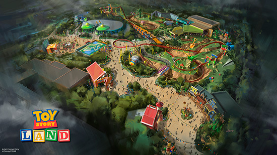New Toy Story Land Disney World