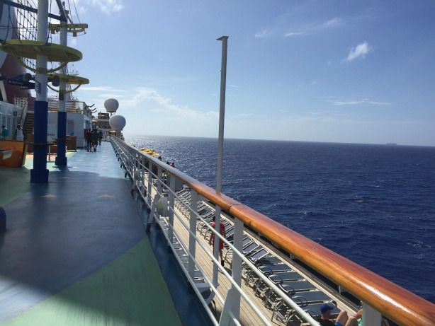 Walking Track on Carnival Sunshine