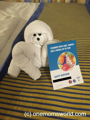 Carnival Towel Animal 6