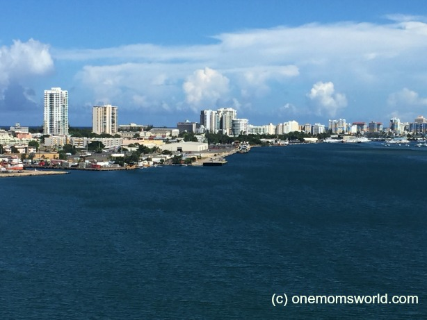 View From Carnival Sunshine San Juan