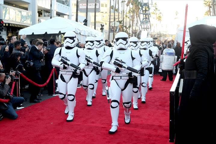 Star Wars Premiere Photo Troopers