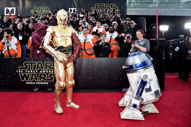 Star Wars Premiere Photos