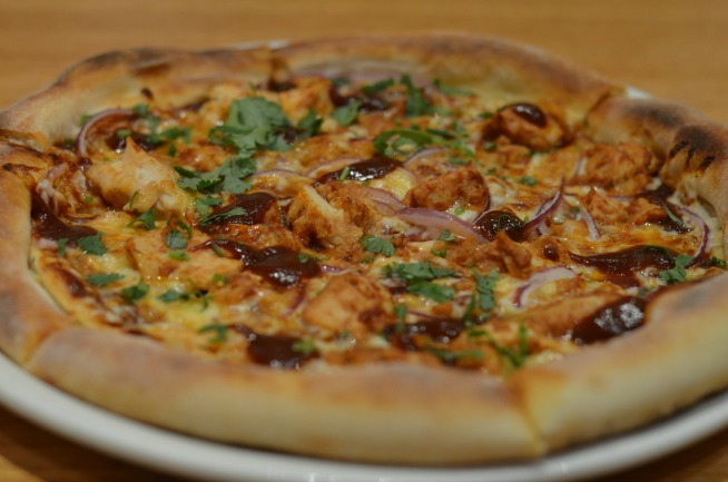 California Pizza Kitchen BBQ Pizza