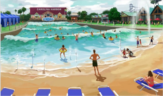 Carowinds Surf Club Harbor