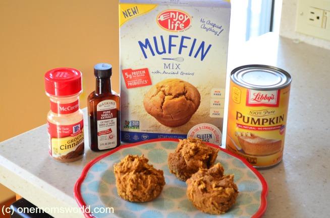 allergy free pumpkin muffins