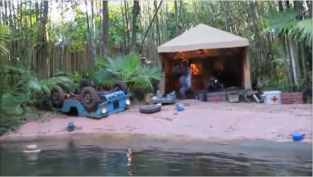 Magic Kingdom Jungle Tour