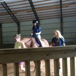 Horse (Equine) Therapy Brings a Smile to L's Face!